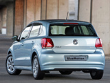 Photos of Volkswagen Polo BlueMotion 5-door ZA-spec (Typ 6R) 2010