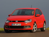 Photos of Volkswagen Polo GTI 3-door (Typ 6R) 2010