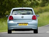Photos of Volkswagen Polo BlueMotion 5-door UK-spec (Typ 6R) 2010
