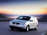 Pictures of Volkswagen Polo 3-door (IV) 2001–05