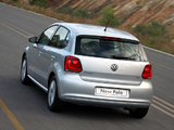 Pictures of Volkswagen Polo 5-door ZA-spec (Typ 6R) 2009