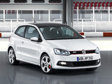Pictures of Volkswagen Polo GTI 3-door (Typ 6R) 2010