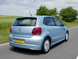 Pictures of Volkswagen Polo BlueMotion 5-door UK-spec (Typ 6R) 2010