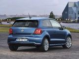 Pictures of Volkswagen Polo BlueGT 3-door (Typ 6R) 2012