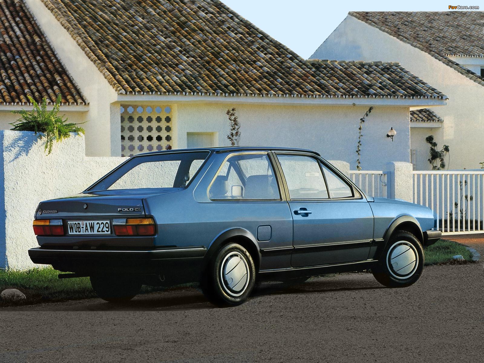 Volkswagen Polo Classic Ii 1985 90 Photos 1600x1200