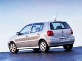 Volkswagen Polo 5-door (Typ 6N2) 1999–2001 wallpapers