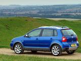 Volkswagen Polo Dune (Typ 9N) 2003–05 photos