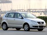 Volkswagen Polo 5-door ZA-spec (Typ 9N3) 2005–09 images