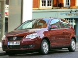 Volkswagen Polo 3-door UK-spec (Typ 9N3) 2005–09 wallpapers