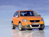 Volkswagen CrossPolo (Typ 9N3) 2006–09 images
