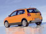 Volkswagen CrossPolo (Typ 9N3) 2006–09 pictures