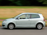 Volkswagen Polo BlueMotion (Typ 9N3) 2006–09 pictures