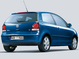 Volkswagen Polo Tour 3-door (Typ 9N3) 2006 pictures