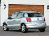 Volkswagen Polo 5-door ZA-spec (Typ 6R) 2009 images