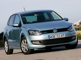 Volkswagen Polo BlueMotion Prototype (Typ 6R) 2009 pictures