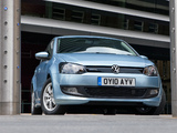 Volkswagen Polo BlueMotion 5-door UK-spec (Typ 6R) 2010 images