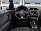 Volkswagen Polo GTI 3-door (Typ 6R) 2010 pictures