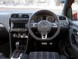 Volkswagen Polo GTI 5-door UK-spec (Typ 6R) 2010 wallpapers