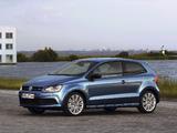 Volkswagen Polo BlueGT 3-door (Typ 6R) 2012 images