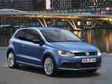 Volkswagen Polo BlueGT 3-door (Typ 6R) 2012 pictures