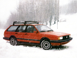 Pictures of Volkswagen Quantum Wagon Synro 1985–88