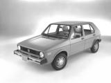 Images of Volkswagen Rabbit 5-door 1975–80