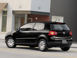 Photos of Volkswagen Rabbit 3-door 2006–09