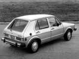 Pictures of Volkswagen Rabbit 5-door 1980–84