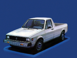 Pictures of Volkswagen Rabbit Pickup 1981–83