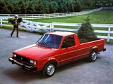 Volkswagen Rabbit Pickup 1981–83 pictures