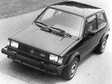 Volkswagen Rabbit GTI 1983–84 wallpapers