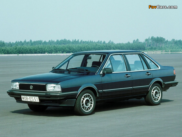 Images of Volkswagen Santana 1981–84 (640 x 480)