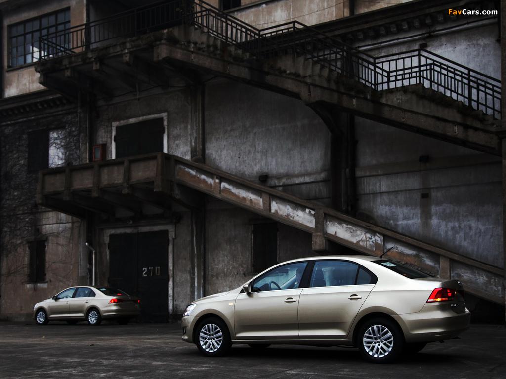 Images of Volkswagen Santana 2012 (1024 x 768)