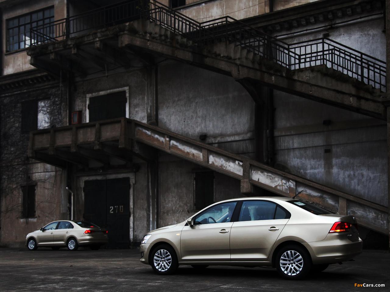 Images of Volkswagen Santana 2012 (1280 x 960)