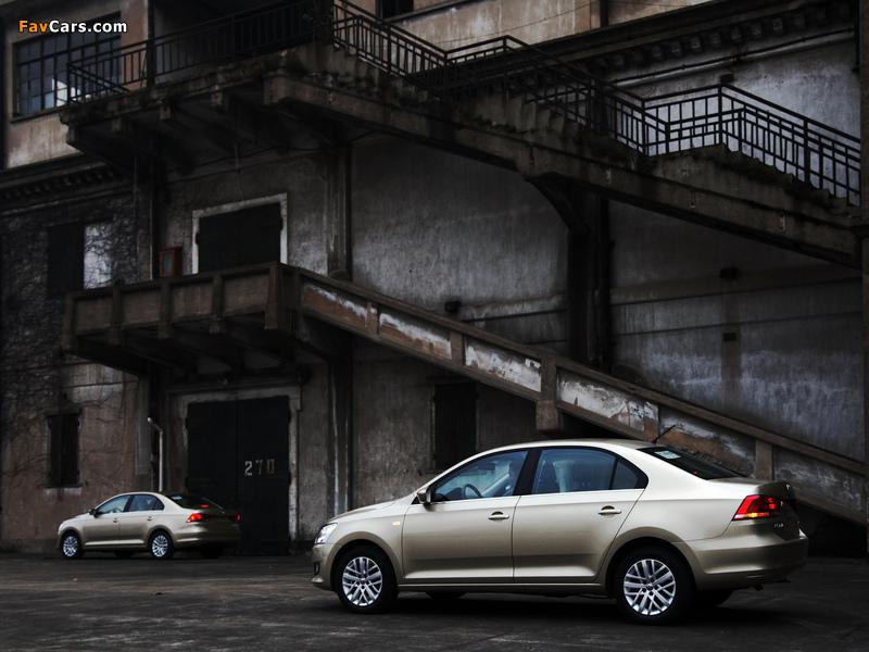 Images of Volkswagen Santana 2012 (800 x 600)