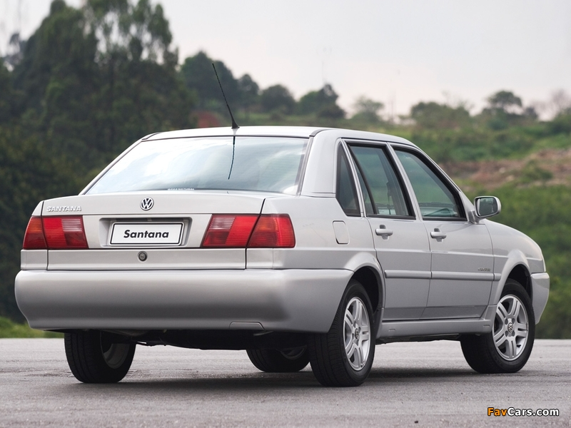 Pictures of Volkswagen Santana BR-spec 1998–2006 (800 x 600)