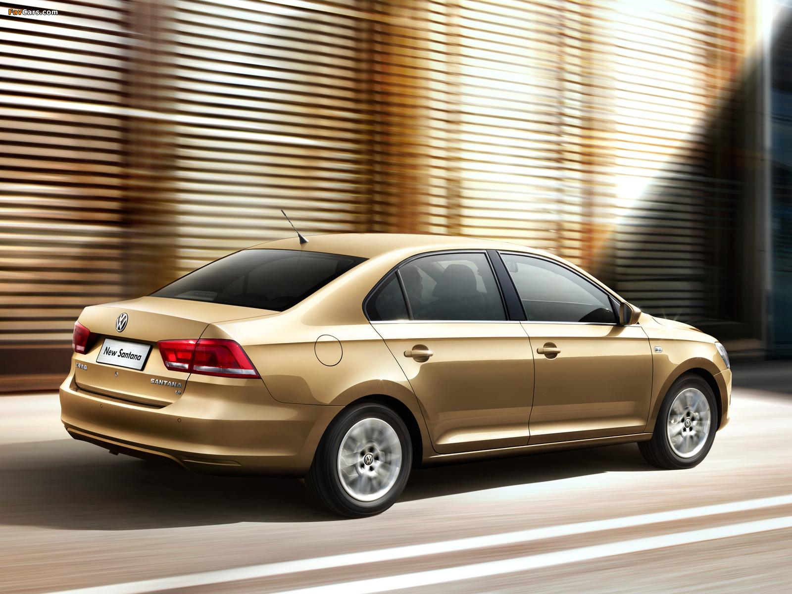 Pictures of Volkswagen Santana 2012 (1600 x 1200)