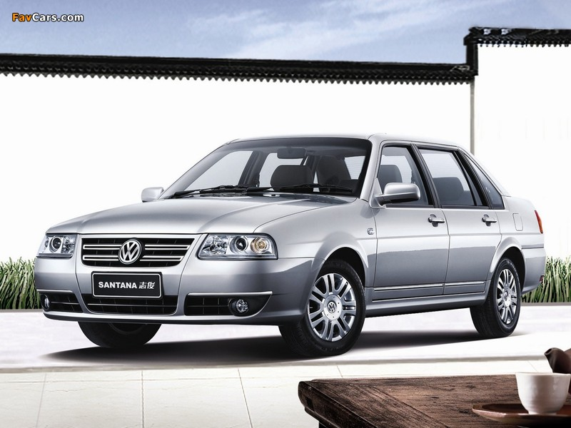 Volkswagen Santana Vista 2008 wallpapers (800 x 600)
