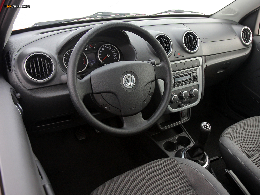 Images of Volkswagen Saveiro Trooper Cabine Simples (V) 2009 (1024 x 768)