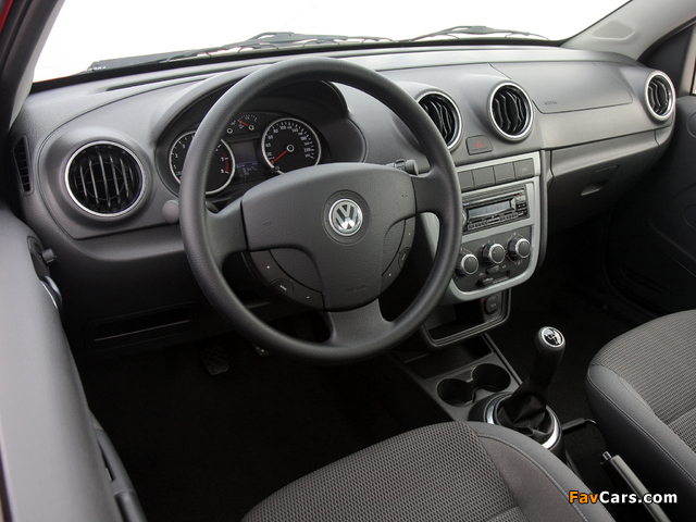Images of Volkswagen Saveiro Trooper Cabine Simples (V) 2009 (640 x 480)