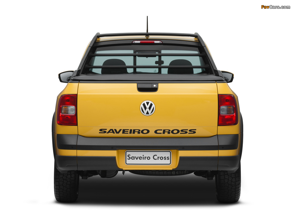 Photos of Volkswagen Saveiro Cross (V) 2010 (1024 x 768)