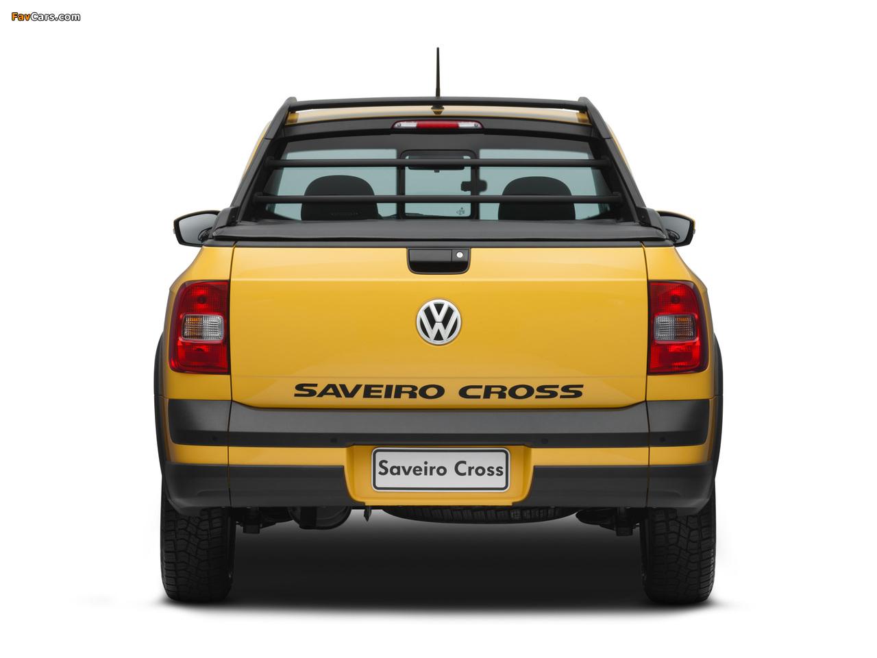 Photos of Volkswagen Saveiro Cross (V) 2010 (1280 x 960)