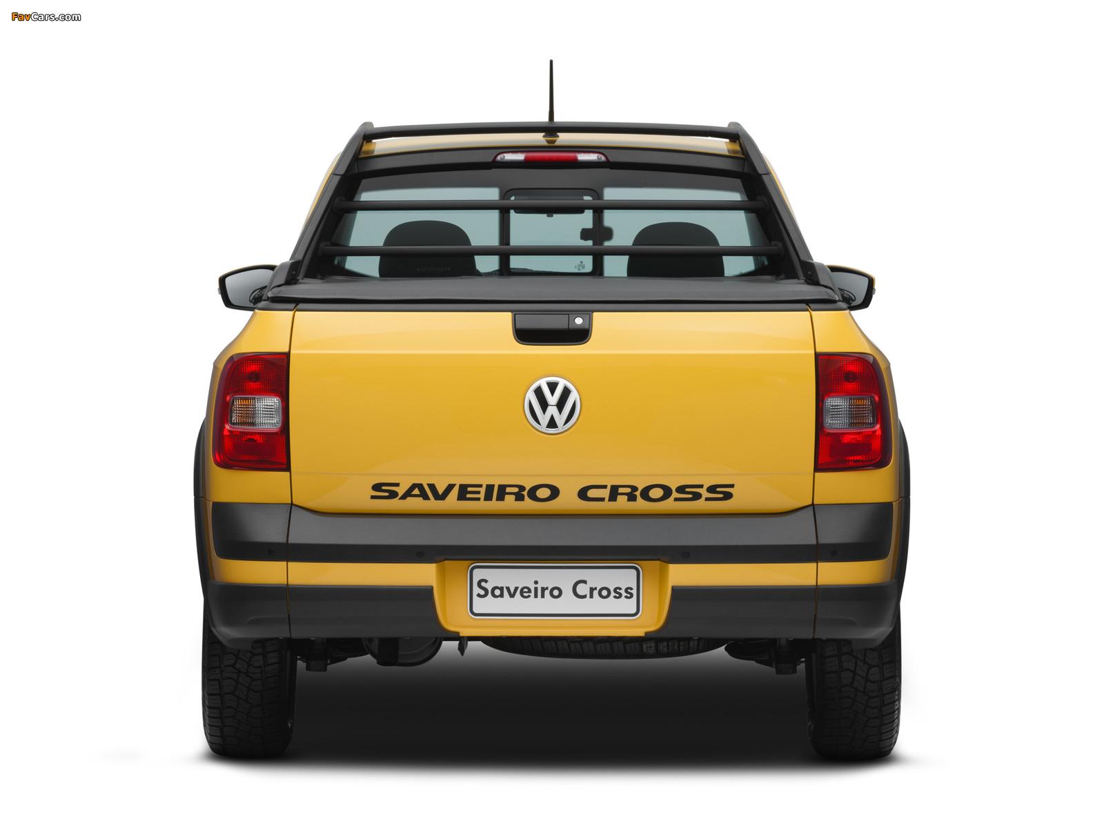 Photos of Volkswagen Saveiro Cross (V) 2010 (1600 x 1200)