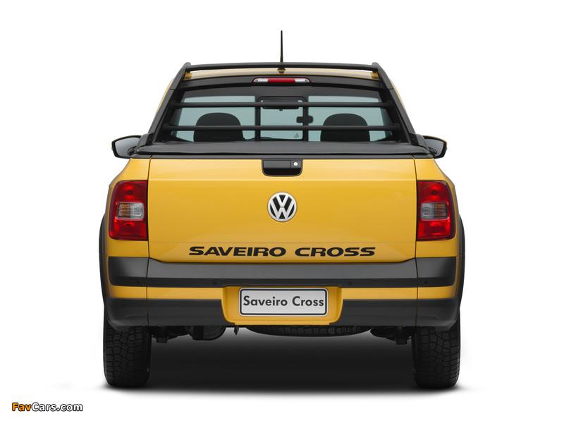 Photos of Volkswagen Saveiro Cross (V) 2010 (800 x 600)