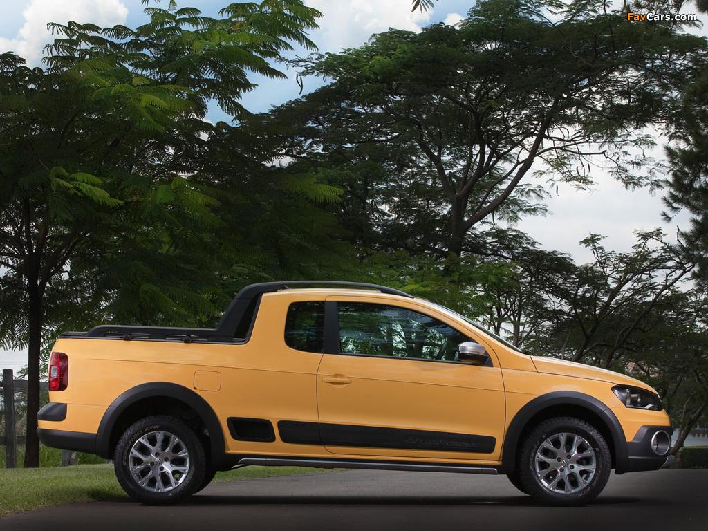 Photos of Volkswagen Saveiro Cross (V) 2013 (1024 x 768)
