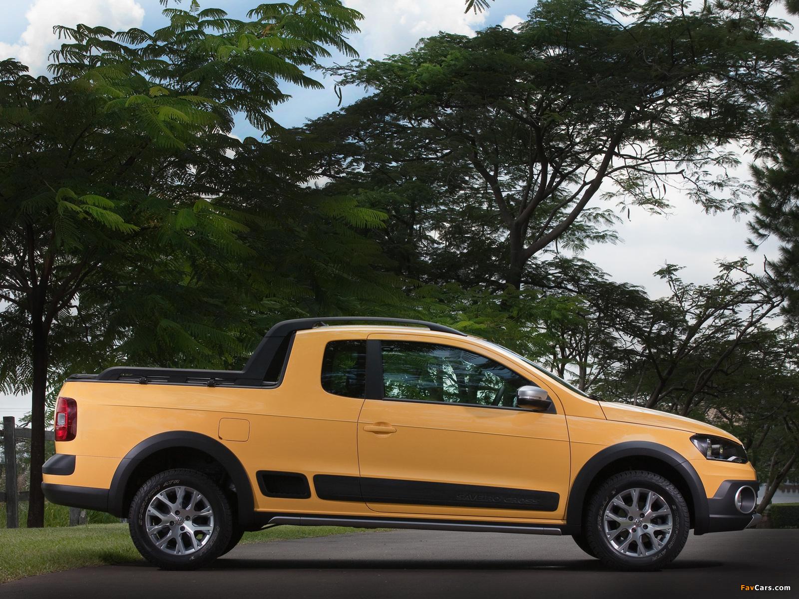 Photos of Volkswagen Saveiro Cross (V) 2013 (1600 x 1200)