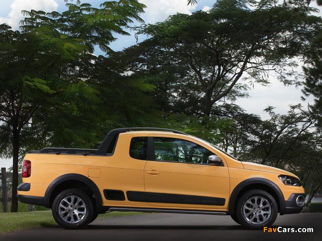 Photos of Volkswagen Saveiro Cross (V) 2013 (640 x 480)