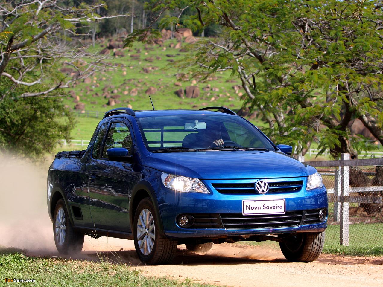 Volkswagen Saveiro Trend Cabine Estendida (V) 2009 pictures (1280 x 960)