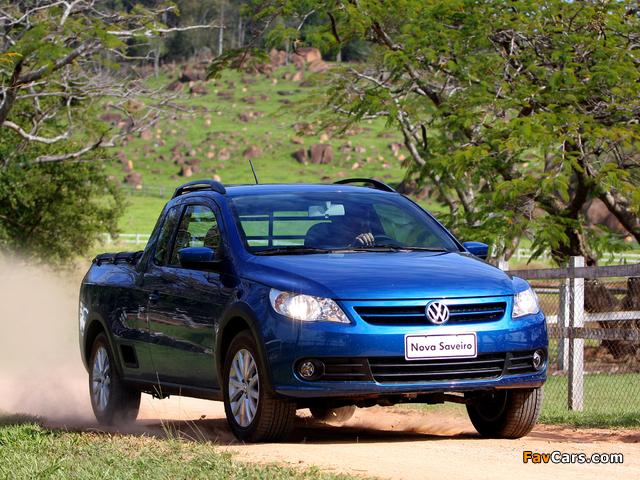 Volkswagen Saveiro Trend Cabine Estendida (V) 2009 pictures (640 x 480)