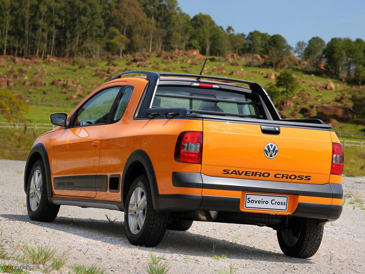Volkswagen Saveiro Cross (V) 2010 images (1280 x 960)